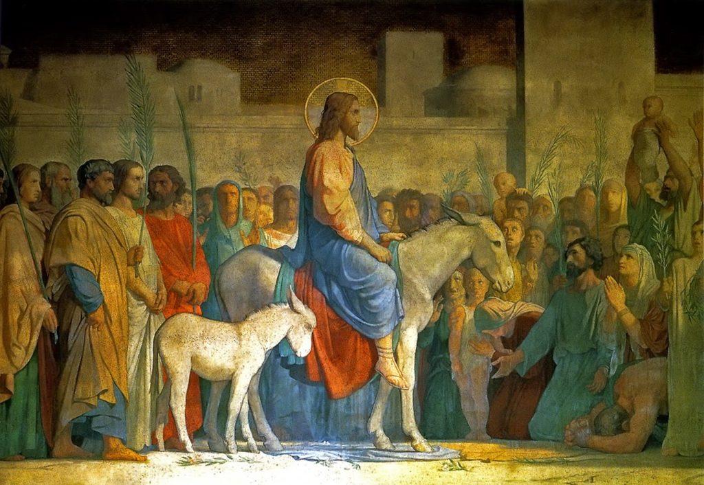 Paginetta per i catechisti: Domenica delle Palme, tirare avanti come un asino
