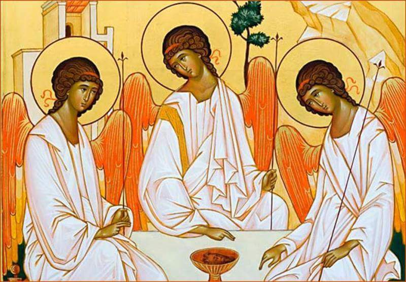 Paginetta per i catechisti: Trinità, casa e scuola di Comunione