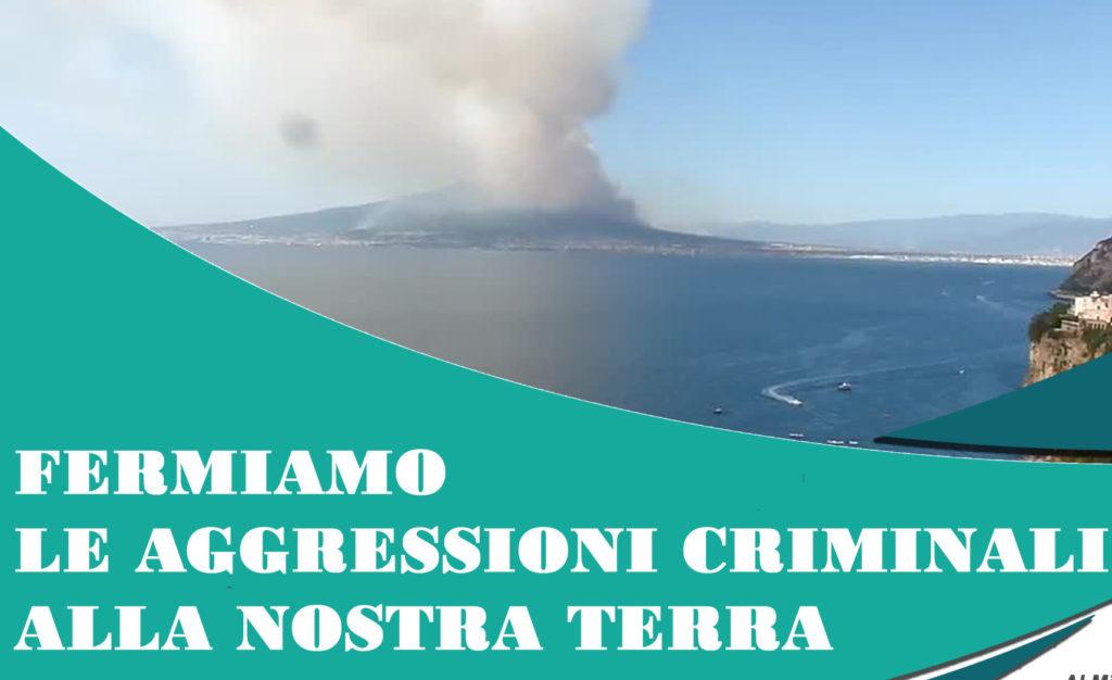 Roghi in Campania, fermiamo le aggressioni criminali alla nostra terra!