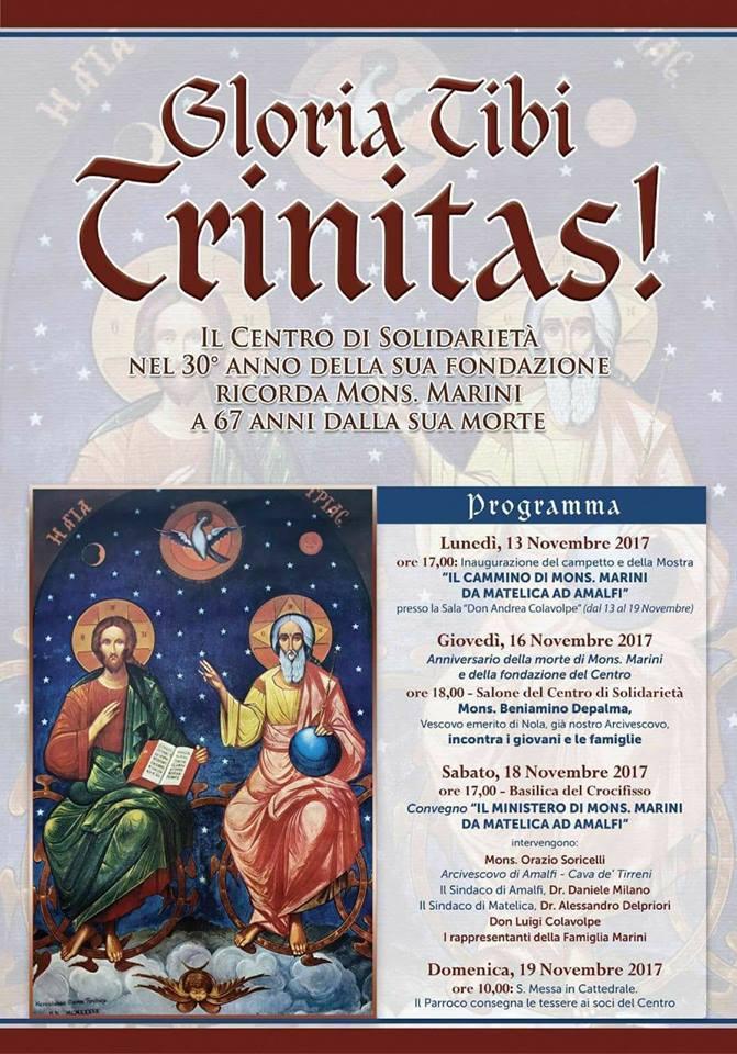 Gloria Tibi Trinitas!