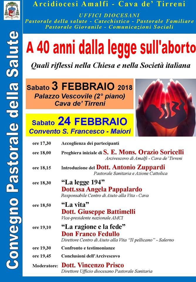 A 40 anni dalla legge sull'aborto Quali riflessi nella Chiesa e nella Società Italiana
