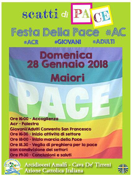 Festa diocesana della Pace – Azione Cattolica Amalfi- Cava