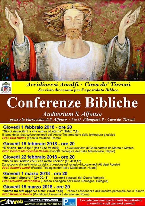 "Conferenze Bibliche ""Auditorium S. Alfonso"""