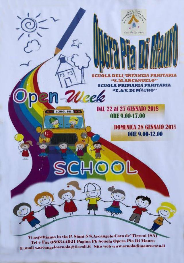Open Week School Opera Pia di Mauro