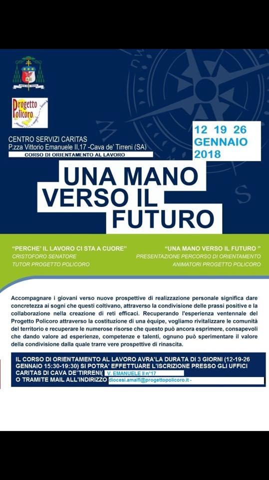 Corso di orientamento al lavoro – progetto Policoro diocesi Cava Amalfi