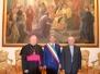 CAVA- Palazzo di Città cittadinanza onoraria a S. E. Mons. Beniamino Depalma
