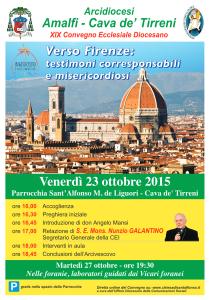 Verso Firenze: testimoni corresponsabili e misericordiosi