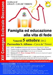 Famiglia ed educazione alla vita di fede