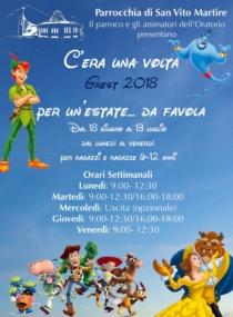 Grest 2018 - Parrocchia San Vito Martire