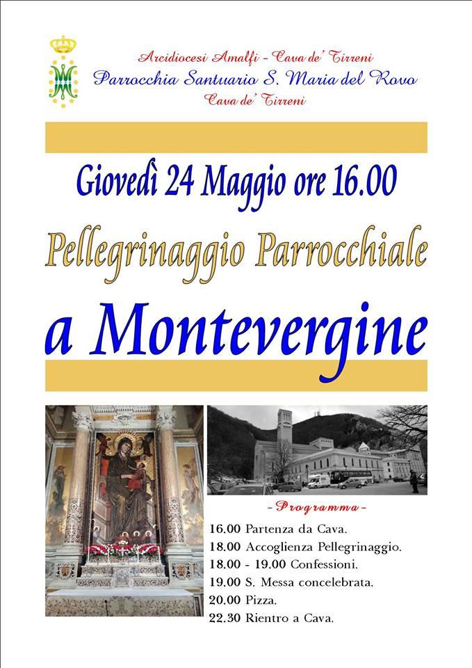 Parrocchia Santuario S. Maria del Rovo  Pellegrinaggio a Montevergine
