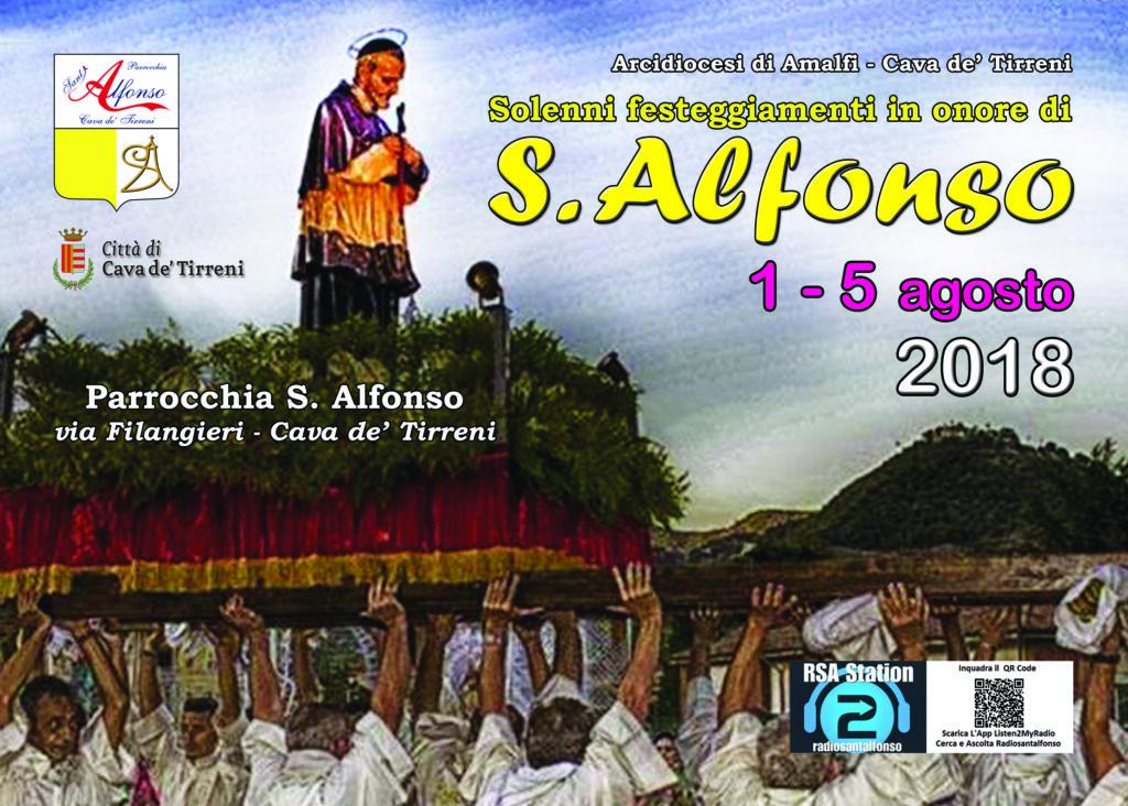 Festa di S. Alfonso 2018 a Cava de' Tirreni