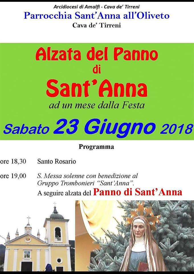 Parrocchia Sant'Anna all'Oliveto Alzata del Panno