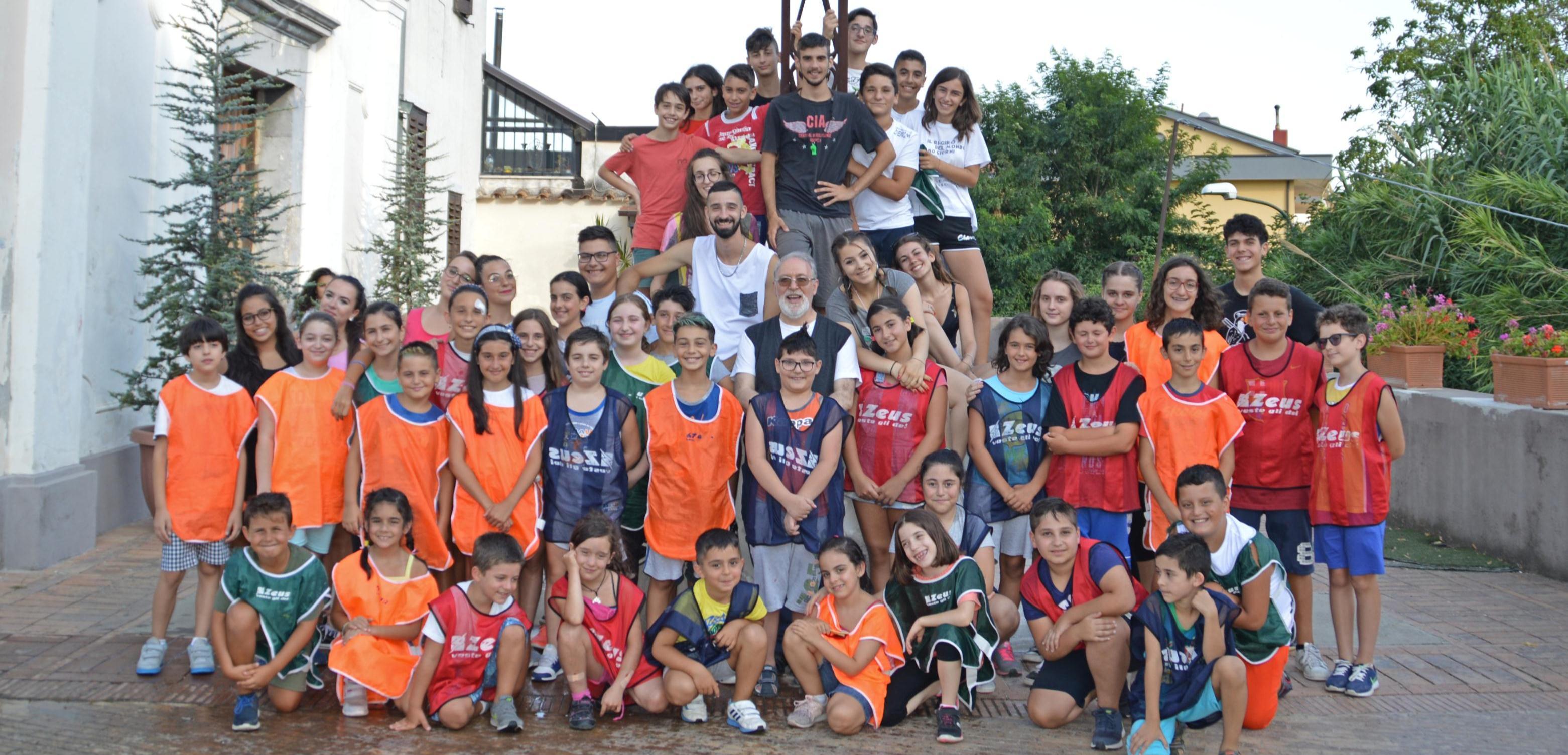 Inside Out Grest 2018 Parrocchia di San Cesario Martire