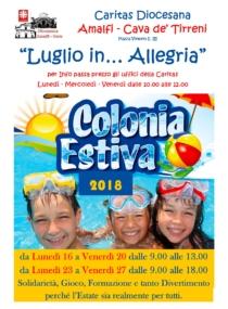 Colonia Estiva 2018