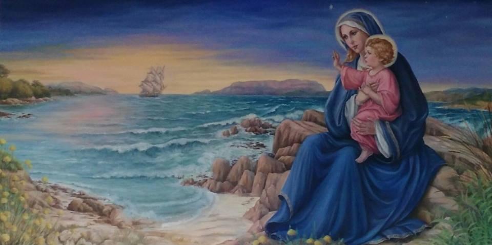Paginetta per i catechisti: A MARIA, MARE DI SPERANZA