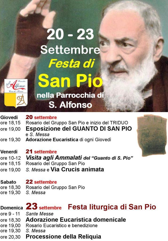 Festa di S. Pio 2018