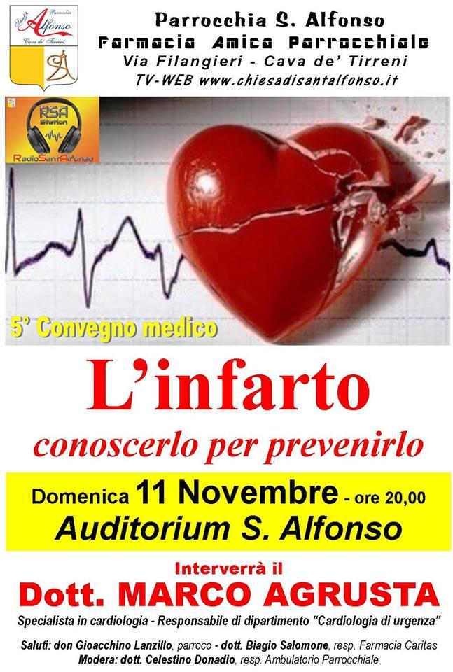 5° Convegno medico l'infarto conoscerlo per prevenirlo