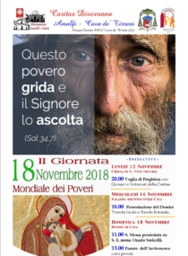 2° Giornata Mondiale dei Poveri