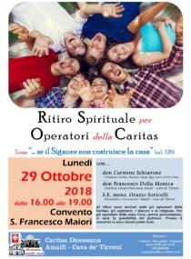 Ritiro degli Operatori Caritas