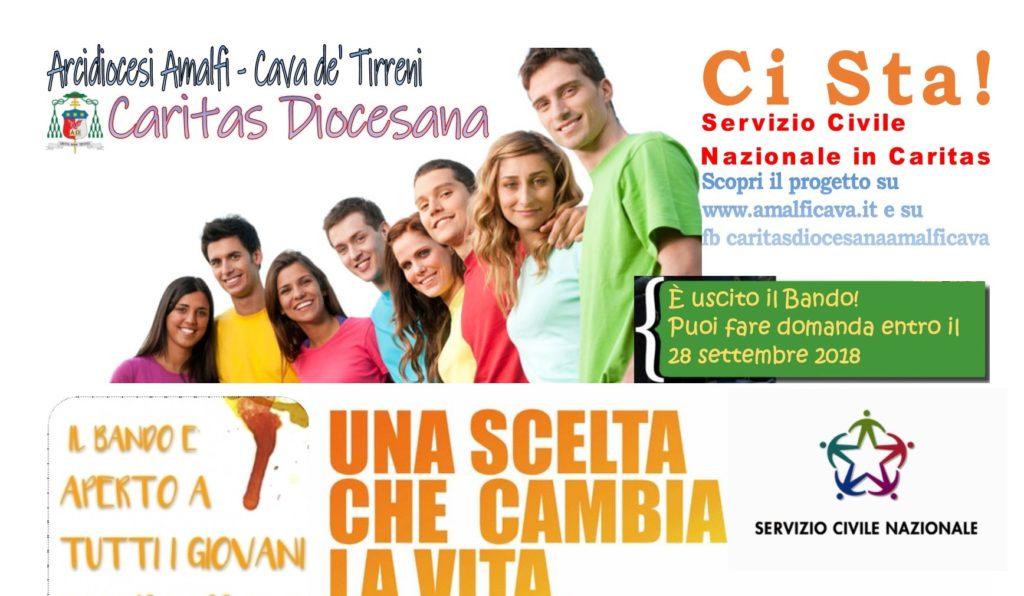 Convocazioni per le selezioni per il progetto di Servizio Civile Universale Ci Ascoltiamo – Campania