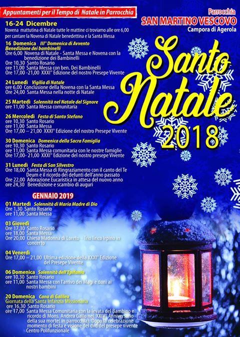 """Parrocchia San Martino Vescovo Campora di Agerola """"Santo Natale"""""""