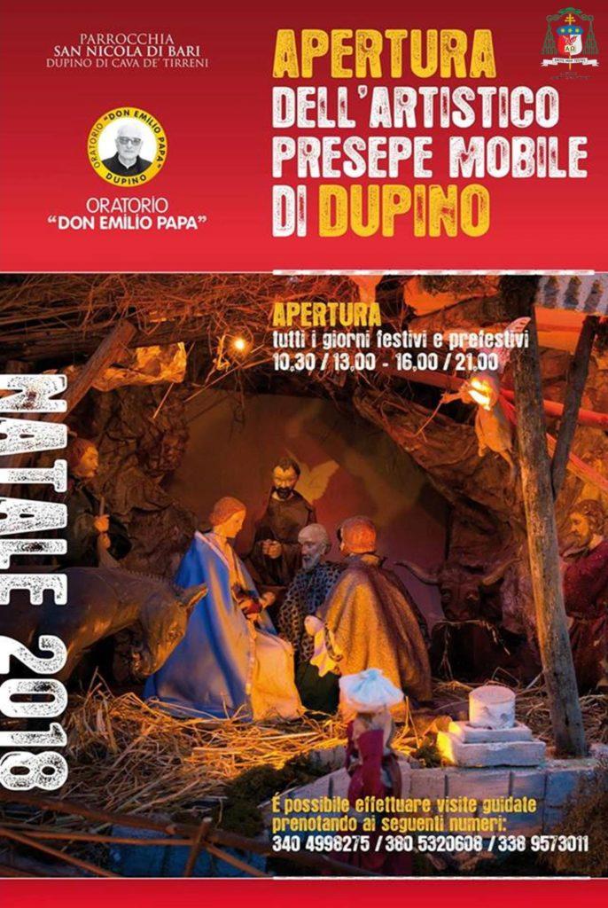 Parrocchia San Nicola di Bari – Dupino Apertura dell'artistico presepe  mobile di Dupino