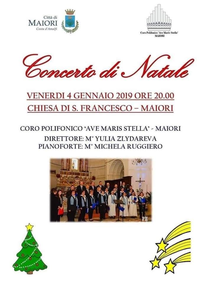 Concerto di Natale Chiesa di S.Francesco – Maiori