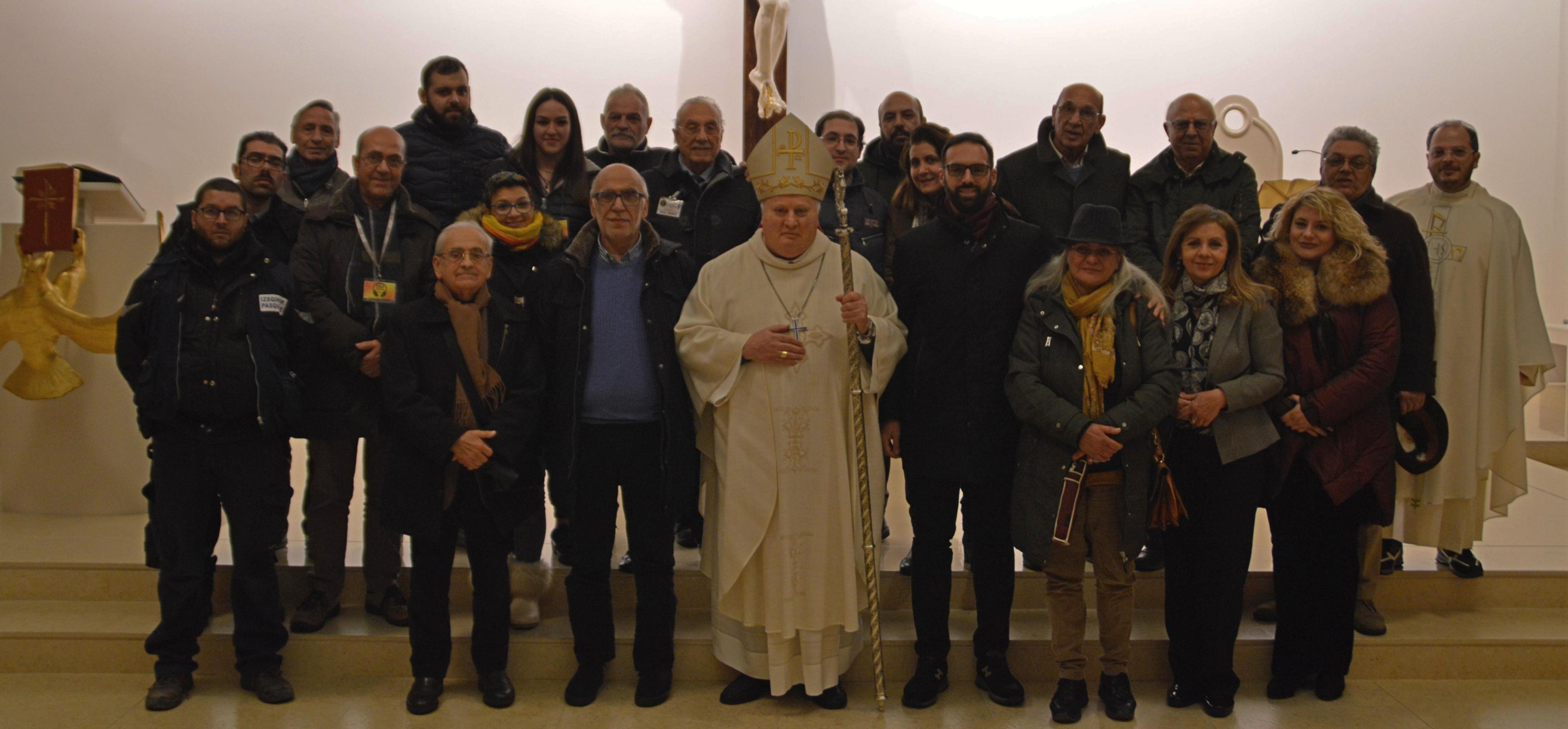 Incontro dei Giornalisti e degli Operatori della Comunicazione con l'Arcivescovo