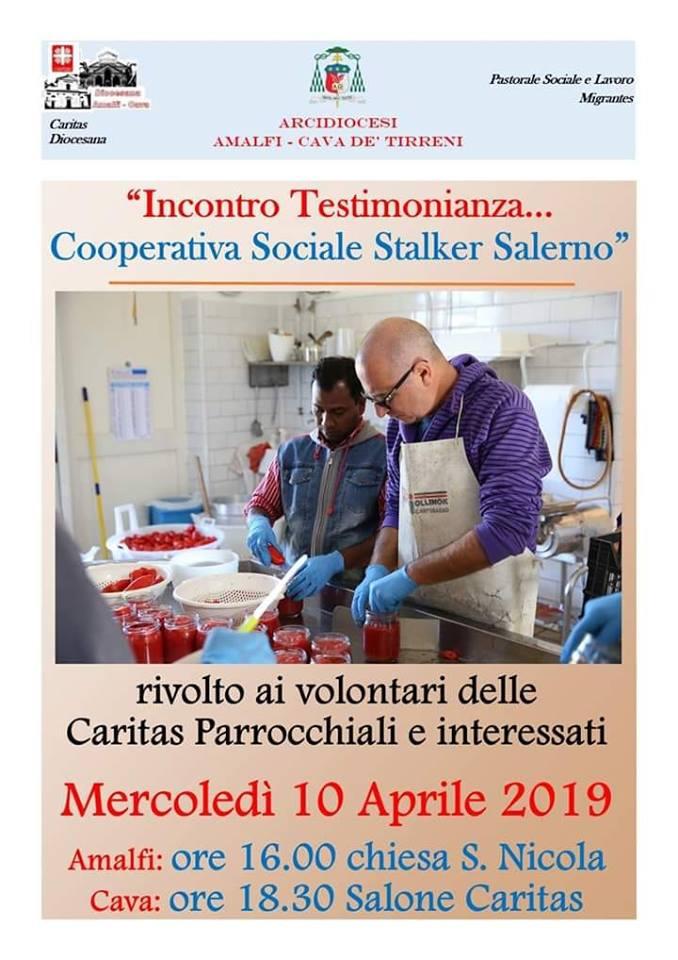 5° Incontro di Formazione Mensile Volontari Caritas Diocesana e Parrocchiale.