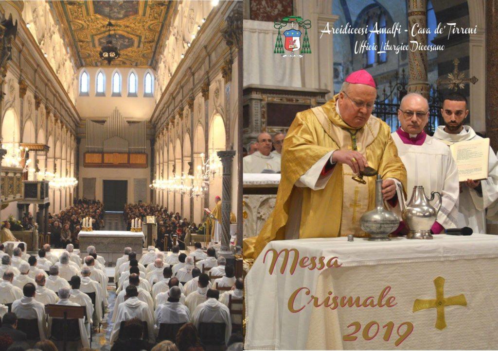 Il Centro Televisivo Cattedrale di Amalfi, trasmetterà alle 18:00 in diretta streaming la Santa Messa Crismale presieduta da Sua Ecc.za Arc. Mons. Orazio Soricelli