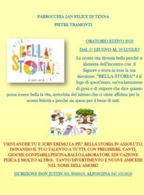 Parrocchia San Felice di Tenna ORATORIO ESTIVO 2019