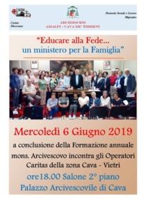 Incontro-con-lArcivescovo-e-consegna-degli-Attestati-Anno-Caritas-2018-2019.
