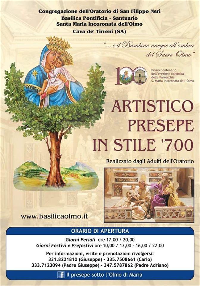 Basilicata Pontificia – Santuario Santa Maria Incoronata dell'Olmo Artistico Presepe in stile '700