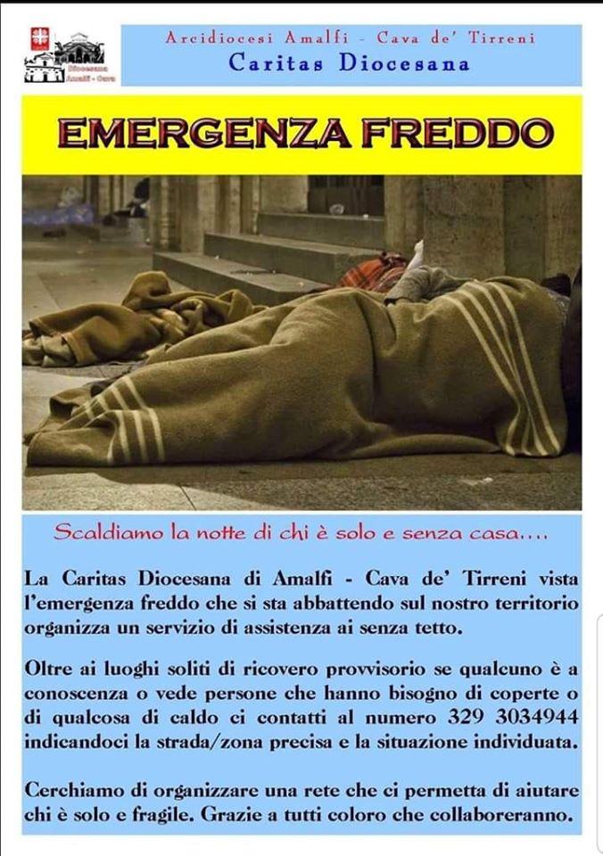 """Caritas Diocesana Amalfi – Cava  """"Aiutiamo stando vicino a chi vive situazioni complesse"""""""
