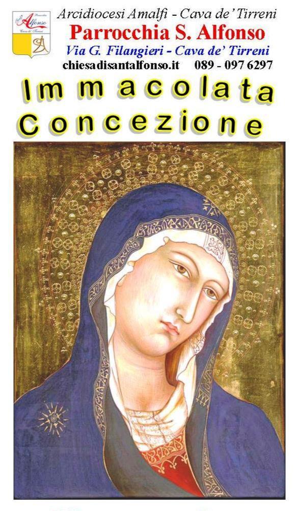 Parrocchia S. Alfonso Maria De' Liguori – Fai il voto di partecipare alla novena dell'Immacolata