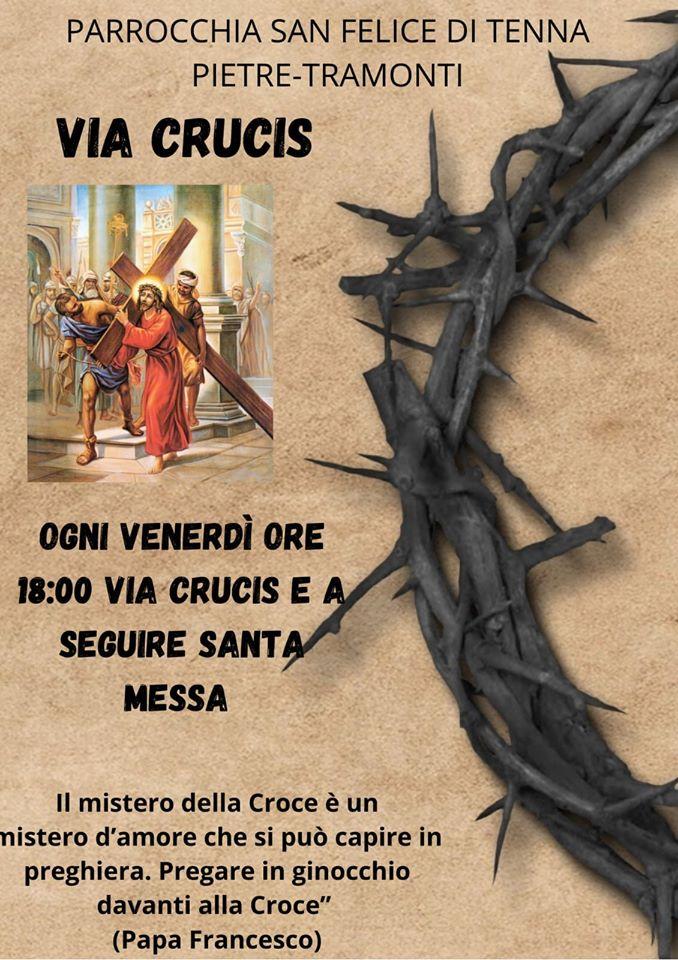 "Parrocchia San Felice di Tenna Pietre – Tramonti ""Via Crucis"""