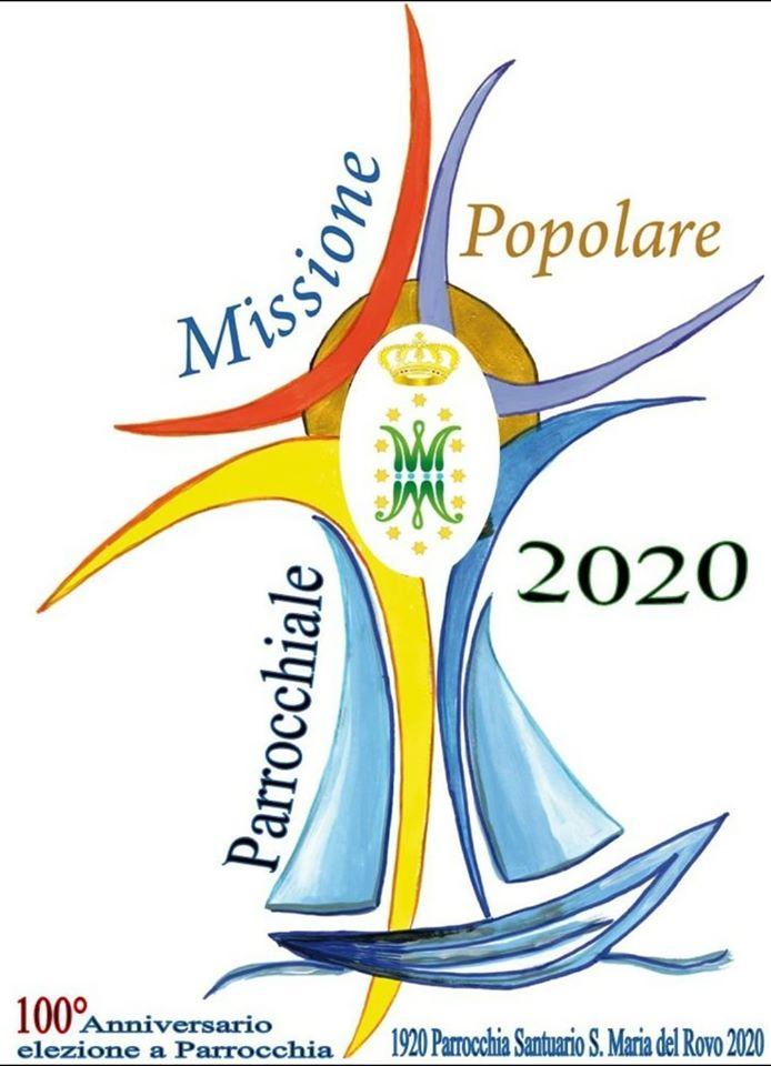 """Parrocchia di Santa Maria del Rovo """"Missione Popolare Parrocchiale 2020"""""""