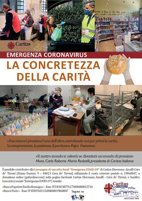 Caritas Diocesana Amalfi-Cava  AIUTACI ad AIUTARE  ChiCiSeparerà – CaritasOnCovid19