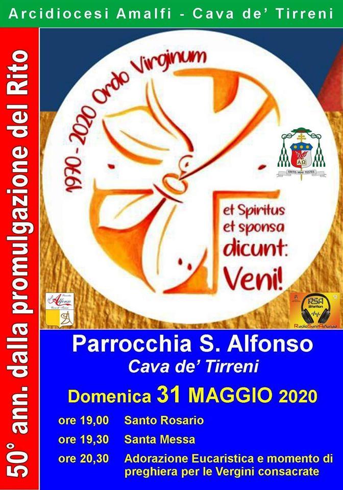 Testimonianza di Teresa Carotenuto, in occasione del 50mo anniversario della promulgazione del Rito di consacrazione delle vergini