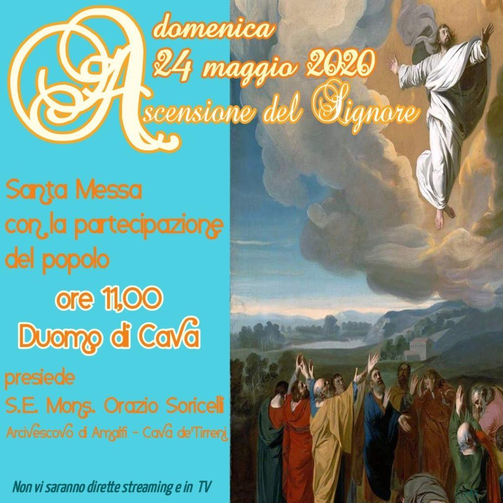 """Santa Messa """"Ascensione del Signore"""" presiede S.E, Mons. Orazio Soricelli"""