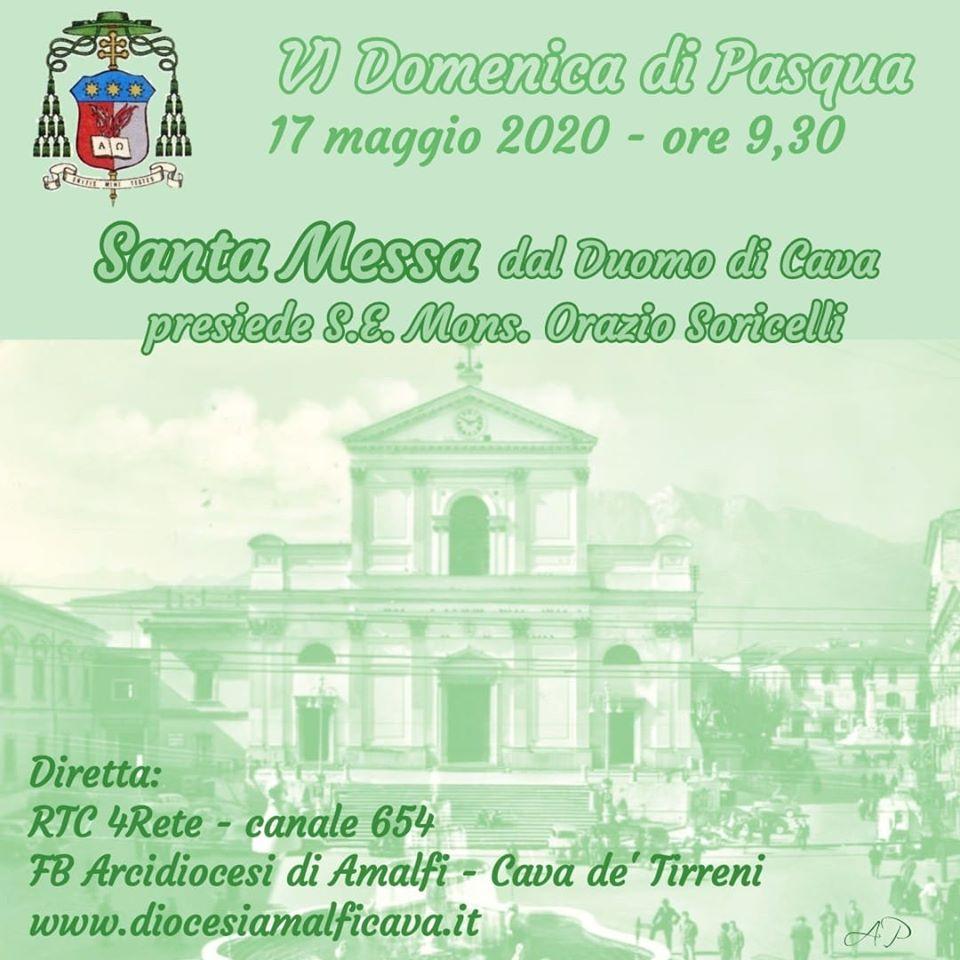 VI Domenica di Pasqua Santa Messa presiede S.E. Mons. Orazio Soricelli
