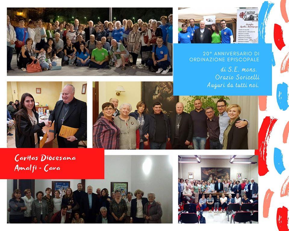 Caritas diocesana – XX Anniversario di Ordinazione Episcopale dell'Arcivescovo S.E. mons. Orazio Soricelli