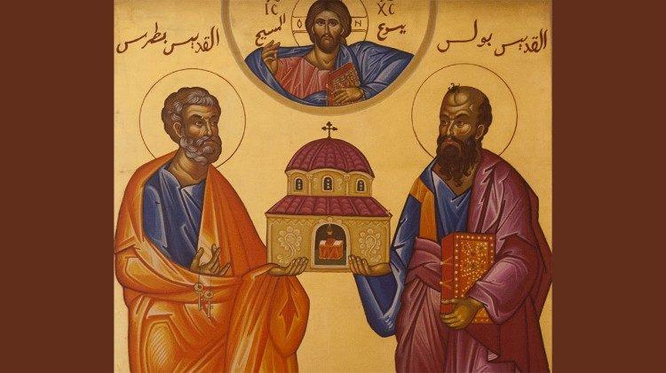 S. Messa nella Solennità dei SS. Pietro e Paolo – 29 giugno 2020