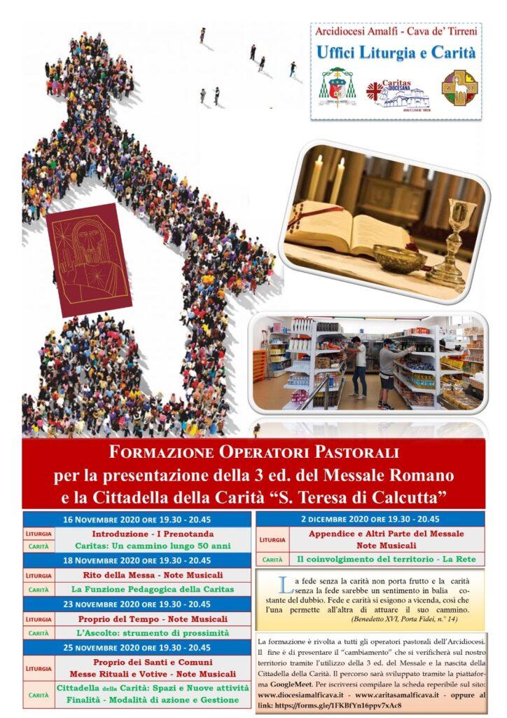 Uffici Liturgia e Carità Formazione Operatori Pastorali