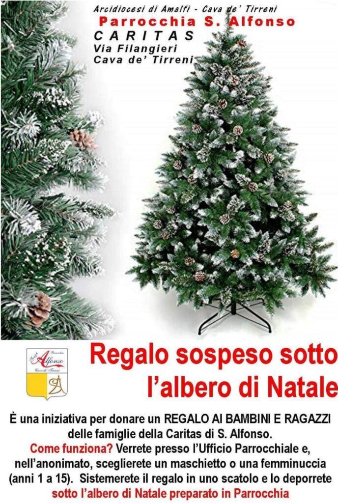 """Parrocchia S. Alfonso – Caritas """"Regalo sospeso sotto l'albero di Natale"""""""