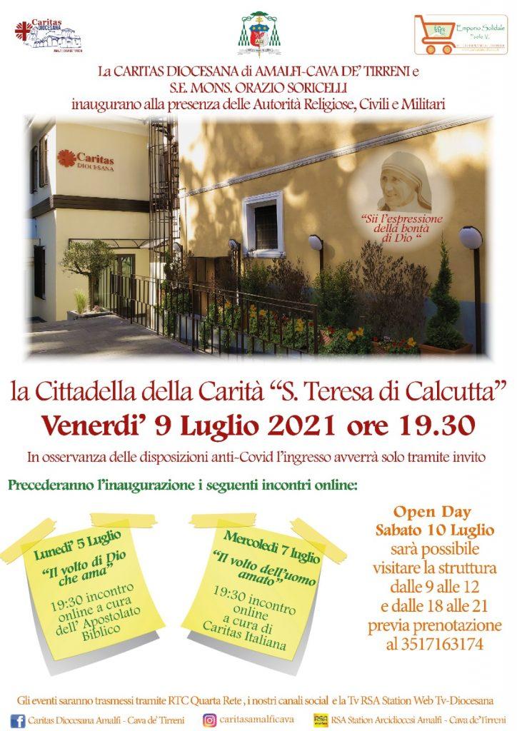 """Caritas diocesana """"Inaugurazione della Cittadella della Carità"""""""