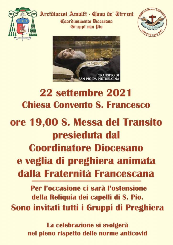 Coordinamento Pastorale Diocesano – Gruppi San Pio