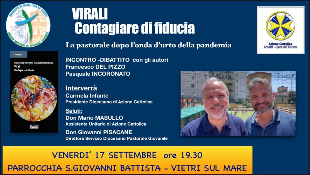 """Parrocchia S. Giovanni Battista """"Virali Contagiare di fiducia"""" La pastorale dopo l'onda d'urtodella pandemia"""