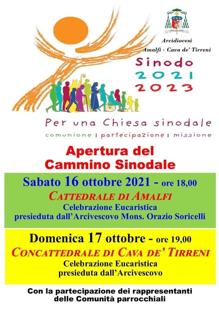 Apertura Cammino Sinodale  2021 – 2023