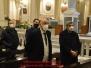S.E. Mons. Orazio Soricelli, L'Ente Montecastello e l'associazione Santa Cecilia augurano Buon Natale al folklore di Cava